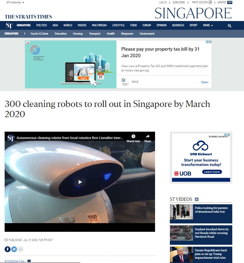 LionsBot International - Public Relations Agency for Tech Startup Singapore